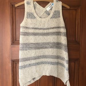 Anthropologie Sparrow Knit Striped Tank